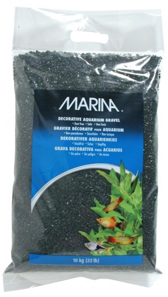 10kg Marina Black Gravel